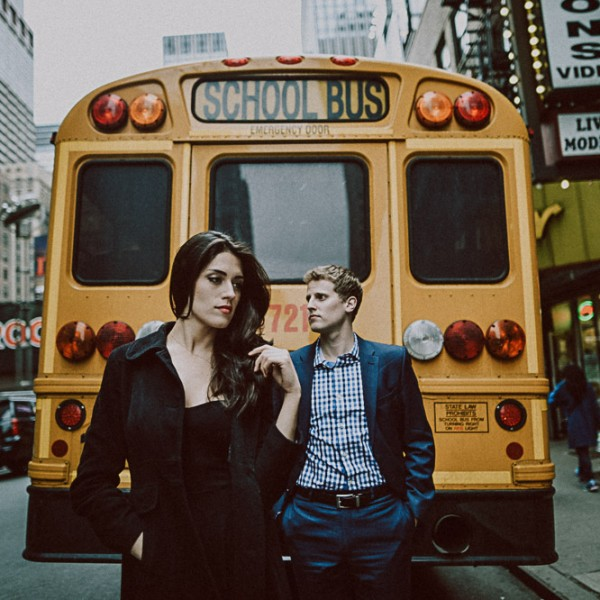 Monica + Tim - love in NYC